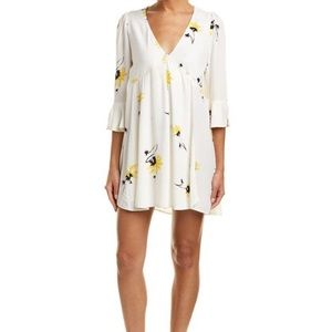 NWT FREE PEOPLE Time On My Side Floral Wrap Dress